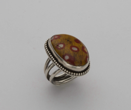 Poppy Jasper Ring Image
