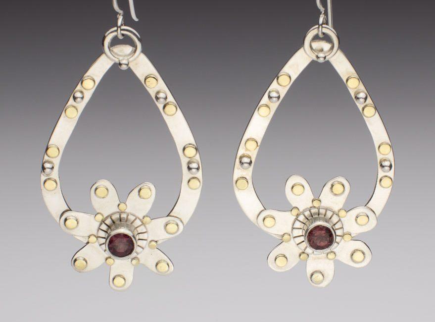 Flattering and Decorative Hoop Earrings