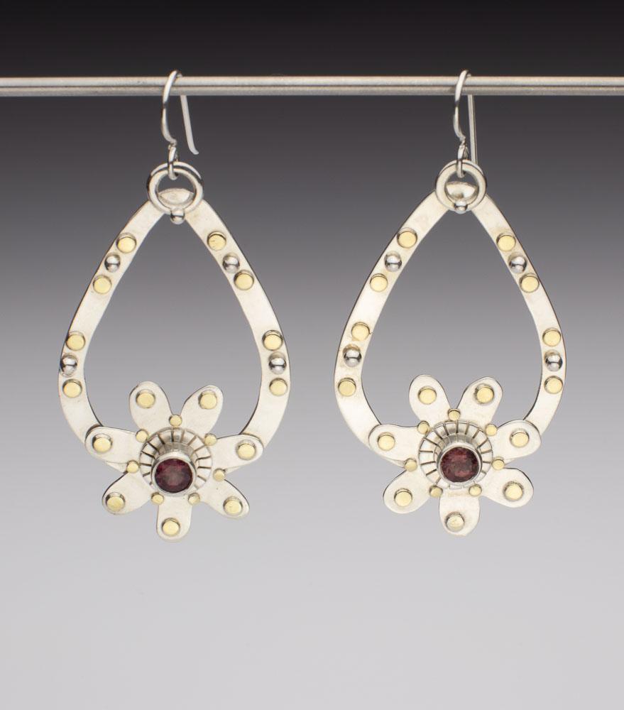 Flattering and Decorative Hoop Earrings Image