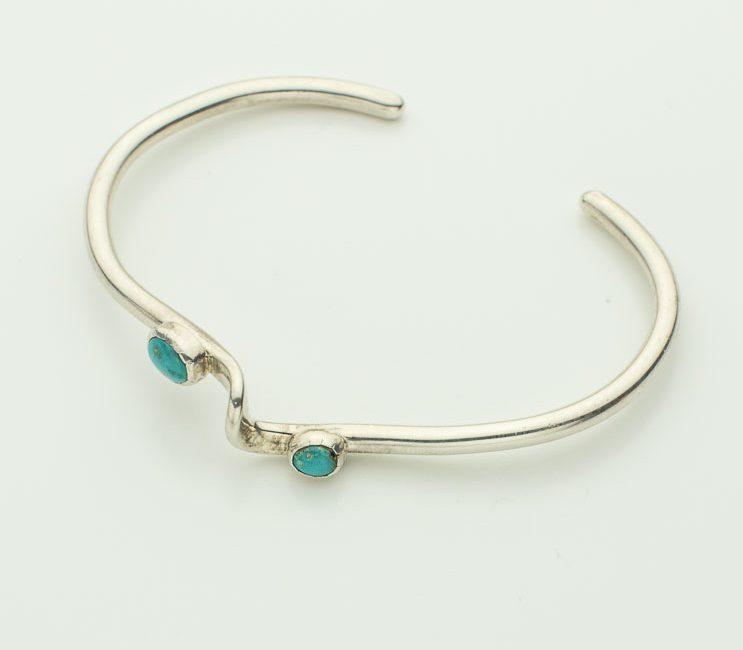 Sterling Silver Slender Bracelet Cuff