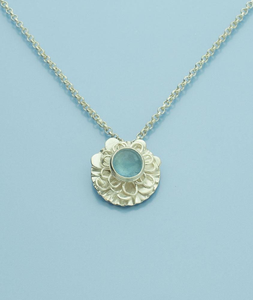 Tales of the Sea Aquamarine Pendant (SOLD) Image