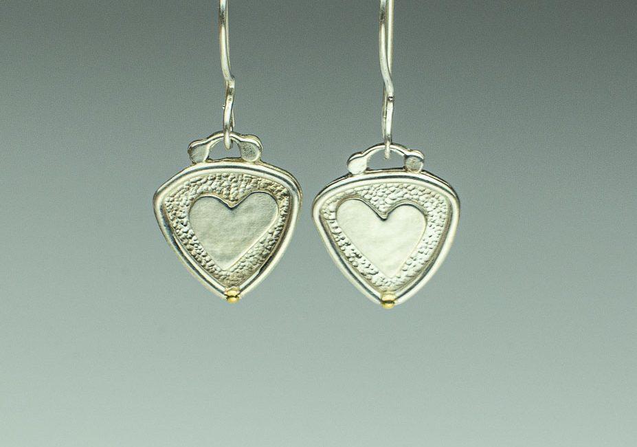 Be Still My Heart Petite Earrings